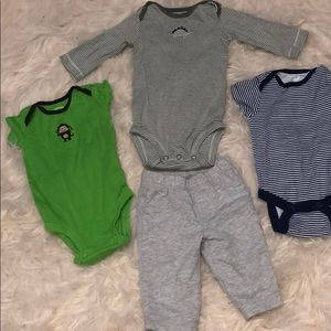 Carter's baby boy bundle lot 3 months clothes